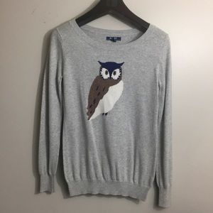 Old Navy owl sweater. Size Small